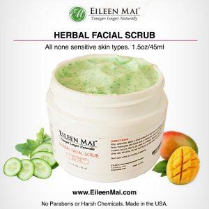 Herbal Facial Scrub with pics
