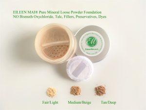 Phấn nền khoáng dạng bột Natural Silky Skin Loose Mineral Powder Foundation