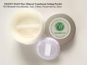 Phấn phủ không màu Natural Silky Skin Translucent Setting Powder